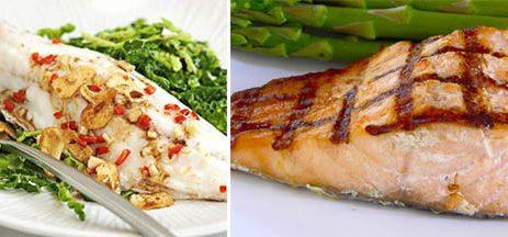 comidas de pescado saludables