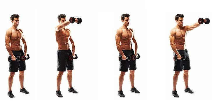 dumbbell-front-raise