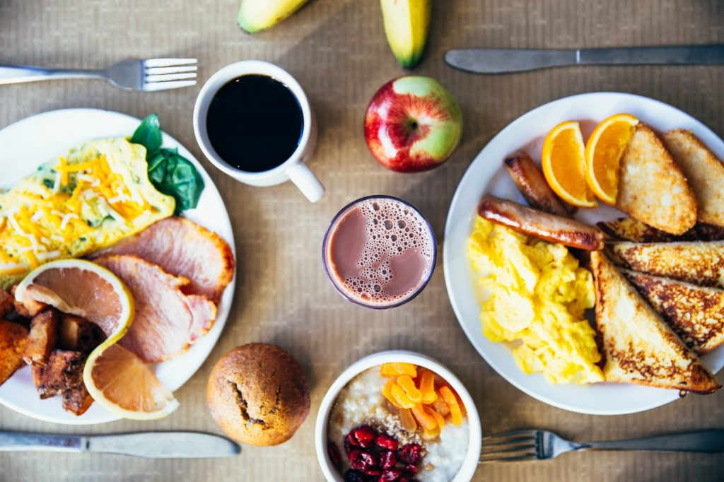 healthy morning foods hcg injections