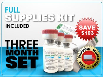 3 Month HCG 5000 IU Incl. Mixing Supplies - Click Image to Close