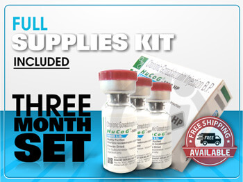 purchase 3 month hcg diet injections with kit supplies