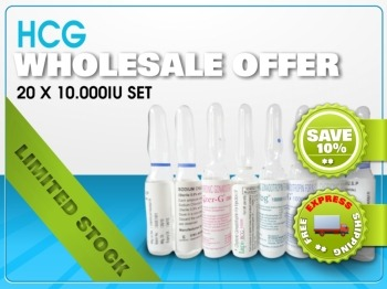 Retail HCG bulk diet wholesale