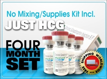 4 Month HCG 5000 IU Just HCG - NO Supplies