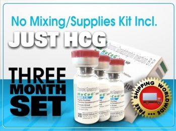 3 Month HCG 5000 IU Just HCG - NO Supplies