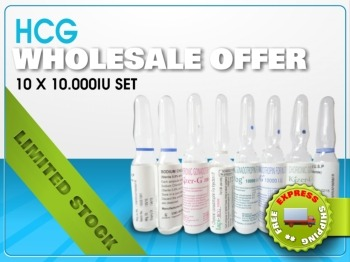 Wholesale HCG 10.000 IU x 10 Vials/20 Month