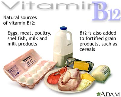 Vitamin b 12 sources
