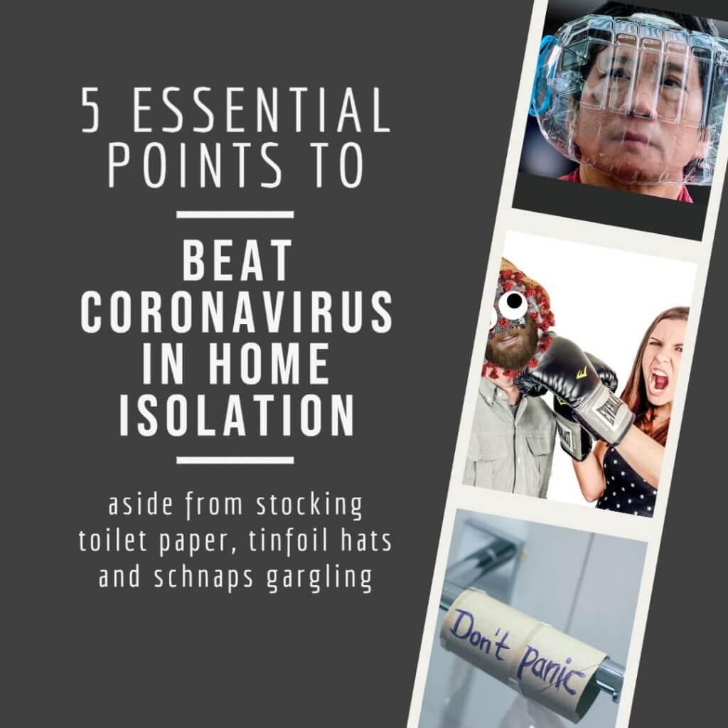 5 puntos esenciales para vencer al coronavirus en el aislamiento del hogar y fortalecer su sistema de salud e inmunológico